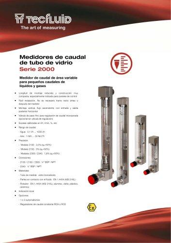 Serie_2000_Medidor_de_caudal_Area_Variable_tubo_de_vidrio