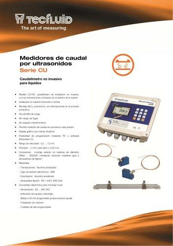 Serie_CU_Medidor_de_caudal_por_ultrasonidos