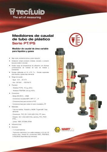 Serie_PS_Medidor_de_caudal_Area_Variable_tubo_de_plastico