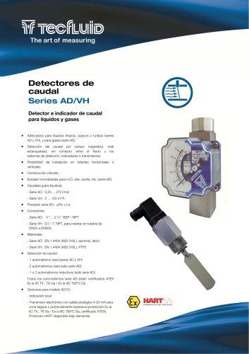 Series_AD-VH_Detector_de_caudal_por_campo_magnetico