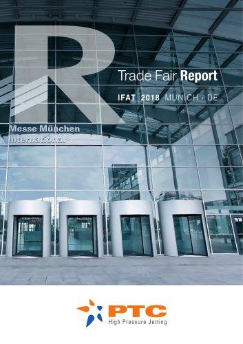 PTC IFAT 2018 TRADEFAIR REPORT