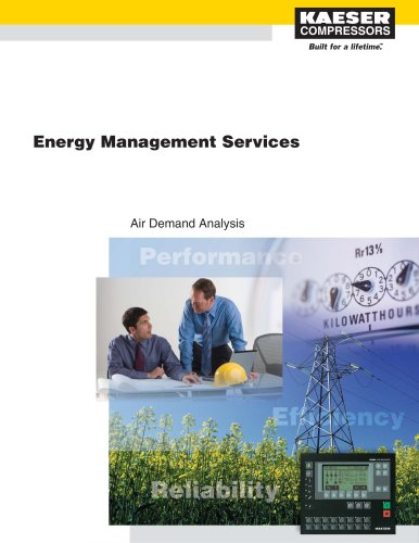 Air Demand Analysis Flyer - Engergy Savings and Asset Management
