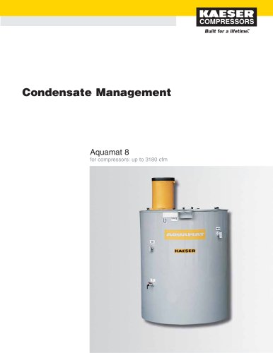 Aquamat Condensate Management