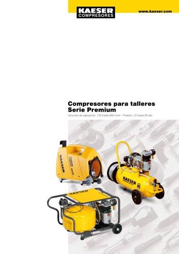 Compresores de pistón Serie PREMIUM