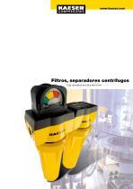 Filtros, separadores centrífugos - 1