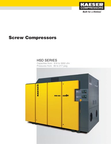 HSD Series Compressors
