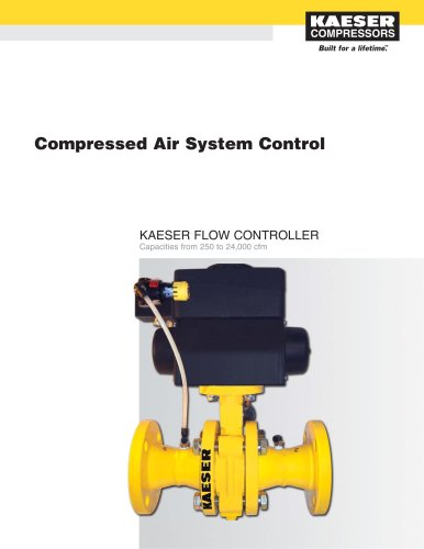 Kaeser Flow Controller (KFC) - Compressed Air System Control