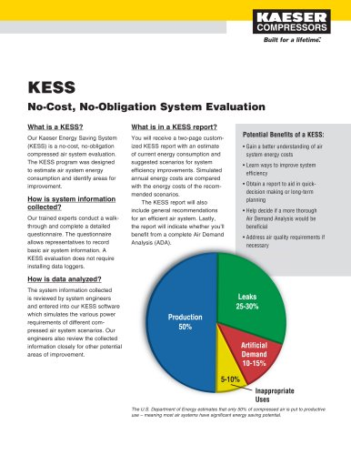 KESS / ADA Flyer - Energy Savings and Asset Management