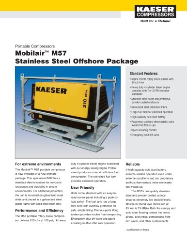 Mobiliar M57 Offshore Package