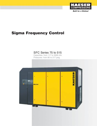 SFC Series Compressors 75 to 515