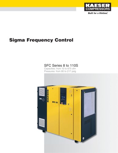 SFC Series Compressors 8 to 110S