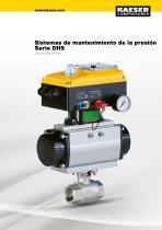 Systemas de mantenimiento de la presión serie DHS - 1