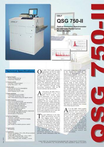 QSG 750-II