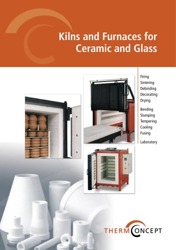 Kilns and Furnaces for Ceramic and Glass