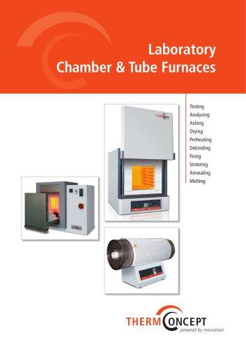 Laboratory Chamber & Tube Furnaces