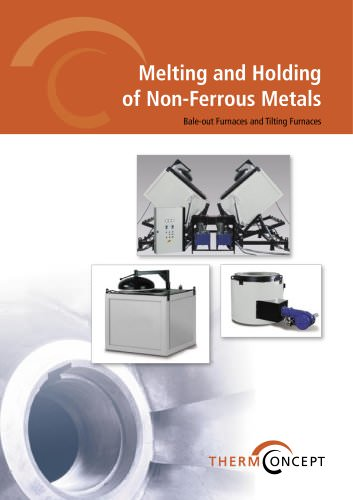 Melting and Holding of Non-Ferrous Metals
