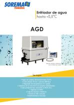 Enfriador AGD de 110 a 250 P