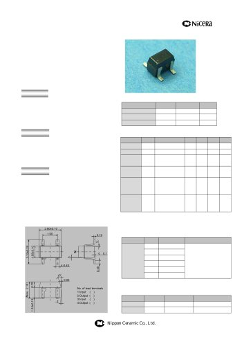 NHE522TU, NHE522TS(Reverse taping product of NHE522TU)