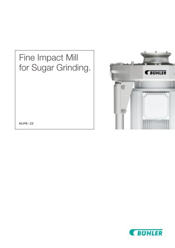 Fine Impact Mill for Sugar Grinding