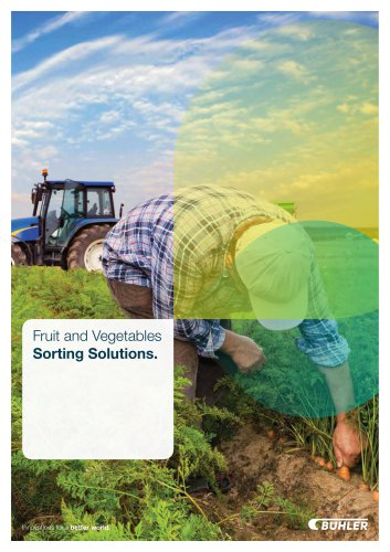 Fruit and Vegetable Solution Brochure