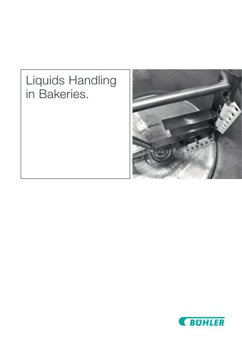 Liquids Handling in Bakeries.