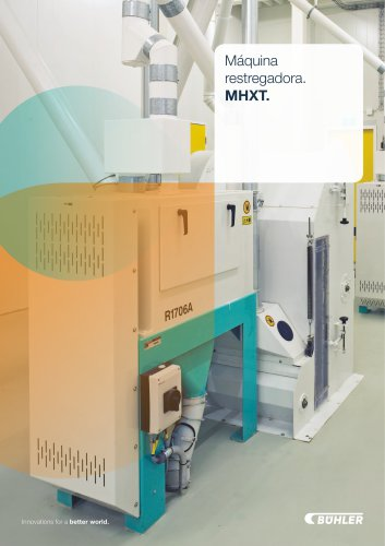 Máquina restregadora MHXT