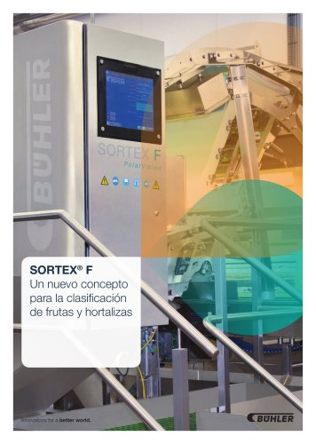 SORTEX F PolarVision for Frutas y Vegetales