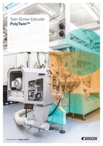 Twin-Screw Extruder PolyTwinTM