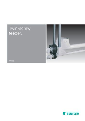Twin-Screw Feeder MWSQ
