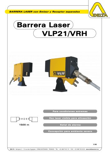 Barrera Laser VLP21/VRH