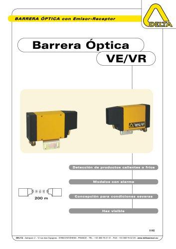 Barrera Óptica con Emisor Receptor VE-VR