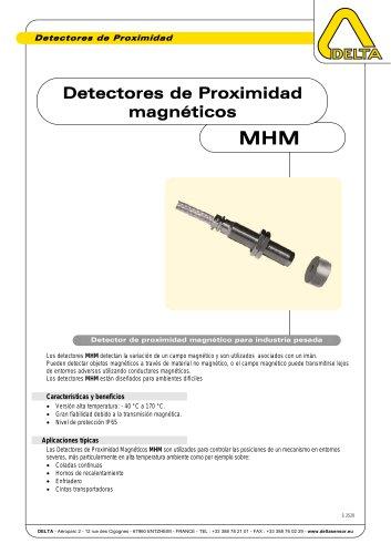 Detectores de Proximidad magnéticos MHM