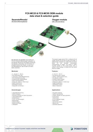 FCX-MC25 & FCX-MC95 OEM module