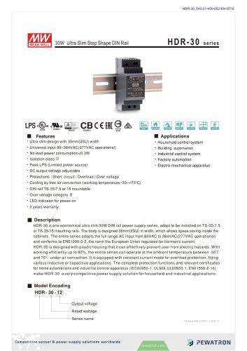 HDR-30 series