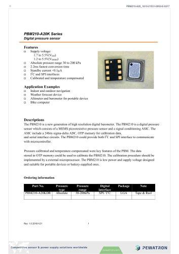 PBM210-A20K Series
