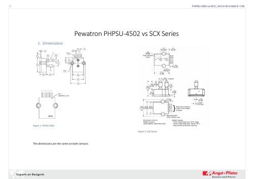 Pewatron PHPSU-4502 vs SCX Series