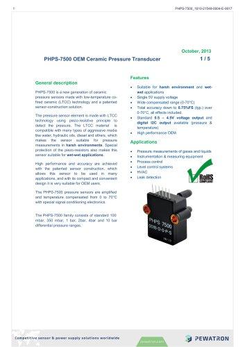 PHPS-7500 OEM