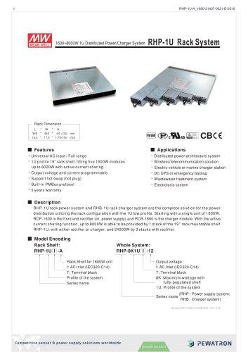 RHP-1U Rack System