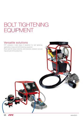 Bolt tightening equipment