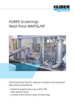 Screenings Wash Press WAP® SL HP