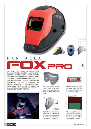 pantalla fox pro