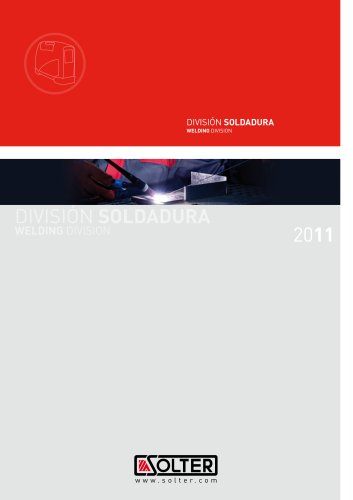 welding division catalogue