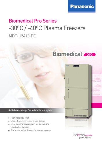-30ºC / -40ºC Plasma Freezers MDF-U5412-PE