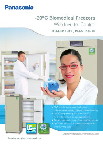 -30ºC Biomedical Freezers With Inverter Control