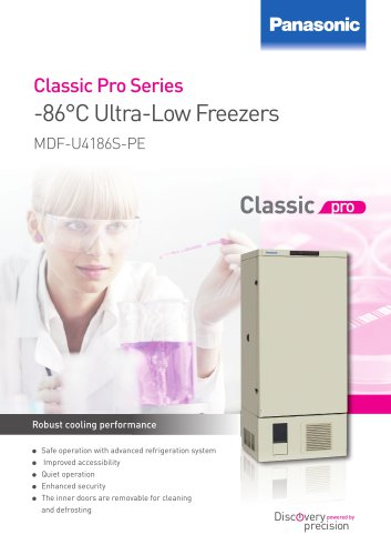 -86°C Ultra-Low Freezers MDF-U4186S-PE