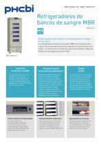 BR-305GR-PE & MBR-705GR-PE Blood Bank Refrigerator - 1