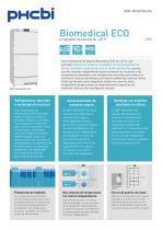 Congeladores de plasma Biomedical ECO de –40 °C - 1
