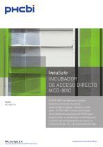 IncuSafe INCUBADOR DE ACCESO DIRECTO MCO-80IC - 1