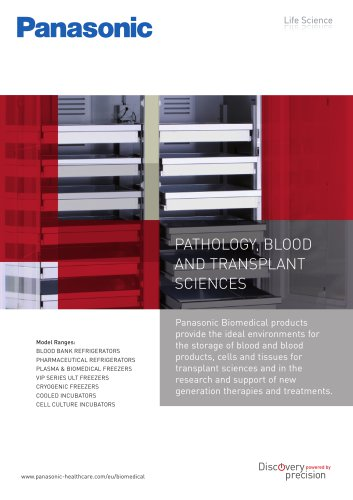 Innovative solutions for Pathology, Blood and Transplant Sciences