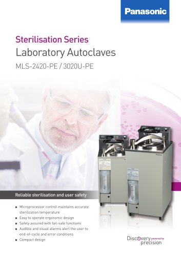 Laboratory Autoclaves MLS-2420-PE / 3020U-PE